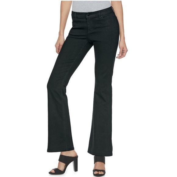 Jennifer Lopez Denim - NWT Jennifer Lopez Black bootcut jeans